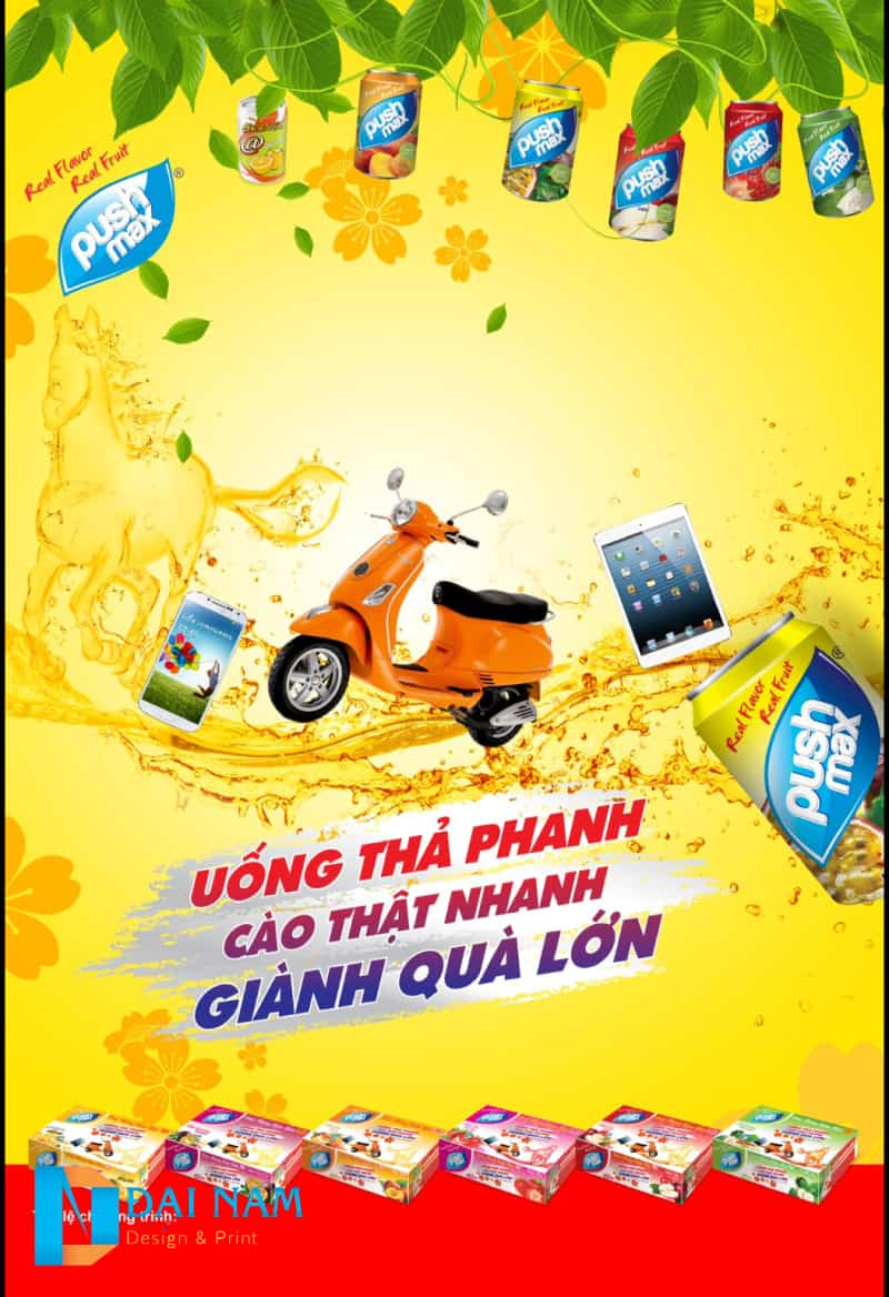 In Poster - Thiết kế poster - 50 mẫu poster đẹp